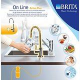 Brita 1004307 Sistema On Line Active Plus Filtro per Acqua