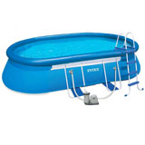 Intex 28194np - Piscina fuori terra Intex Oval Frame 610X366x122 cm