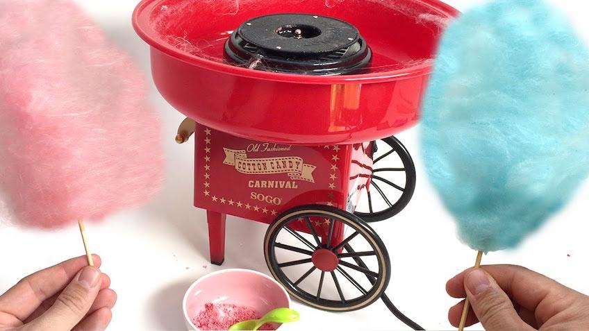 macchina per zucchero filato