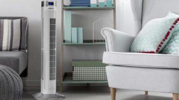 I 10 Migliori Ventilatori a Colonna per Rinfrescare Velocemente