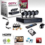CCTV h264 4 canali