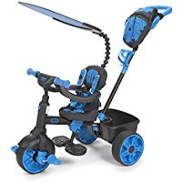 Little Tikes 4 in 1 Deluxe Blu triciclo bambino