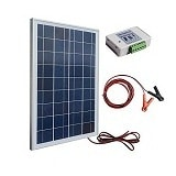 ECO-WORTHY Pannello Solare Policristallino 25 Watt