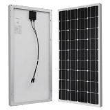 HQST 100 Watt 12 Volt Pannello Solare Fotovoltaico