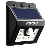 10 Mpow MSL5 8 Led luce a energia solare