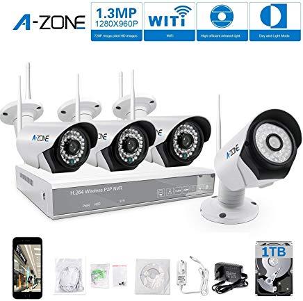 A-ZONE WiFi 4 canali