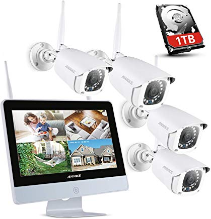 ANNKE 4CH 1080P con Monitor