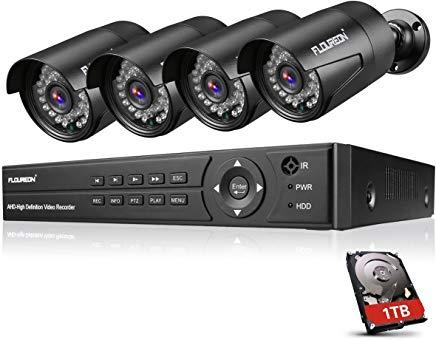 FLOUREON DVR Kit Videosorveglianza
