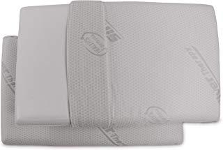 Baldiflex 2 Cuscini Memory Foam con Fodera Silver Safe