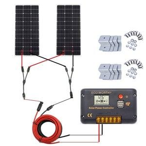 Eco-Worthy Kit Pannello Solare 200W