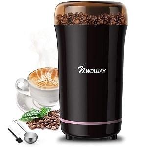NWOUIIAY Macinacaffè Elettrico 300W