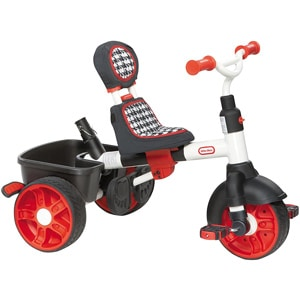 Little Tikes 4 in 1 Deluxe triciclo bambino